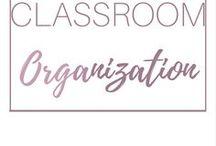 ORGANIZE : Classroom Organization