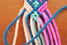 Friendship Bracelets / Bracelets Brésiliens et autres bracelets en coton - Lucky Bracelets