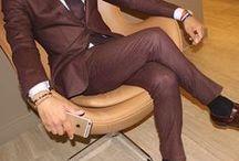 Homen Moda e estilo.