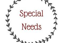 Special Needs / Here's information on special needs