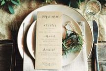 Centerpieces and Wedding Table Ideas / Ideas for centerpieces, place settings, and other wedding table details. / by Mountainside Bride