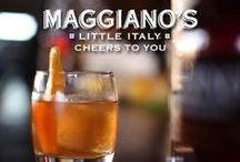Cheers to You! / Premium draft beers, sommelier selected wines, Handcrafted Classic Cocktails and more. #MaggianosHH / by Maggiano's Little Italy