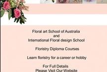 Floristry School / Floral designs and flower arrangements from Floral Art School of Australia and International Floral Design School  http://.www.floral-art-school.com.au