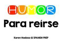 Humor / Para reírse / Chistes en inglés y español.