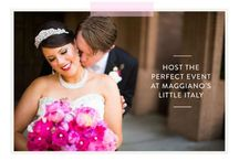 Bliss List 2015 / Enter our Bliss List Contest to win a Maggiano's Wedding Reception http://blisslist.maggianos.com / by Maggiano's Little Italy