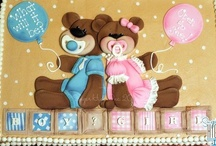 Baby Showers / Baby shower coming up Summer 2013.  Gender Reveal Ideas and color themes! / by Michelle McMillen