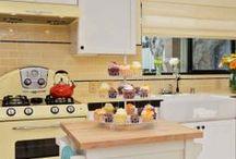 Retro Kitchen Inspiration / A celebration of retro inspired kitchen designs and accessories. / by Jackson Design
