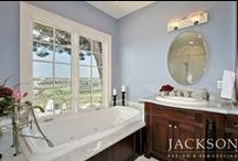 Bathrooms with a View / Aaaahhh ... Luxurious bathrooms made even more relaxing with lovely views.