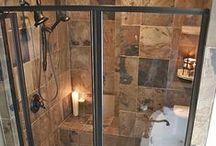 Bathroom Makeovers: Shower Doors / Creative and practical bathroom shower door ideas