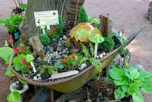 Fairy Garden Dreams / DIY structures, plant suggestions, and fairy garden inspiration