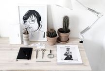 HOME: Workspace / by Madison | Rad Maker