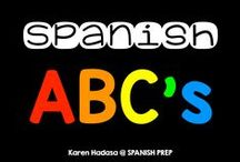Spanish ABC's / Spanish Alphabet games, activities, resources and ideas for teaching the alphabet for preschool, pre-k, kindergarten and first grade.
