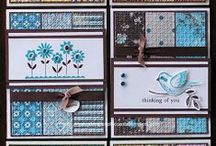 Card Inspiration / Creative handmade greeting cards using stamps, paper and more.