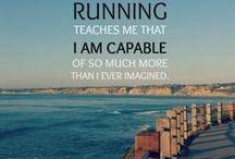 "Curro Ergo Sum / ""Curro Ergo sum""- ""I run, therefore I am"". / by Laura Riggs"
