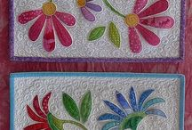 Quilts / Quilts, table runners, scrappy, fat quarters, sewing / by Becky Scott
