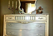 Annie Sloan Paints, Great Tutorials, Stencils  / Turning Furniture into Art / by Diana deming From Virginia