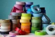 Trends - Washi / Trending - Japanese paper tape!  Now that you have 100's of rolls what are you going to do with it?