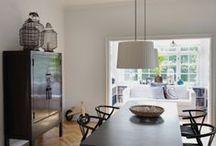 B&W living / Living room Black & White house Singapore inspiration