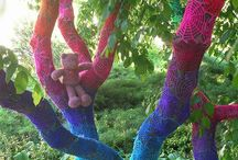 Yarn bombing (wild breien)