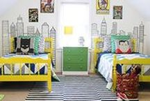 Toddler Boy Room Ideas / Inspiration for decorating a room for toddler boys
