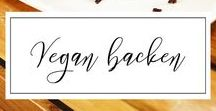 Vegan backen / Hier findet ihr vegane Desserts – insbesondere vegane Kuchen. Lasst euch gerne inspirieren, wenn ihr ebenfalls vegan backen wollt!