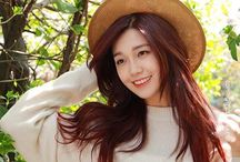 ☆A-pink☆ Eunji♡♡♡ / Name: Jung EunJi  Profession: Idol-Member in Girl Group A-Pink. Also soloist singer and actress Birth Date: 18-August-1993 Height: 163cm Weight: 46kg  Agency: Plan A Entertainment