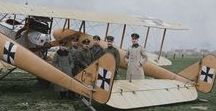 Militärflugzeuge WWI / Military aircraft from world war I