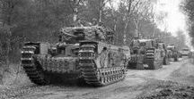 Allied tanks in World War II
