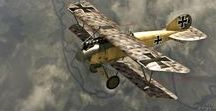 Albatros D series / The single seater scouts from Albatros.