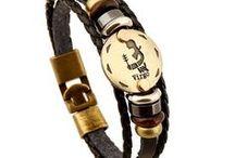 Zodiac Signs Bracelets / Zodiac Signs Bracelets - Aquarius, Pisces, Libra, Taurus, Scorpio, Cancer, Capricorn, Leo, Sagittarius, Virgo, Gemini, Aries