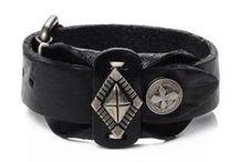 Cuff Leather Bracelets / Cuff Leather Bracelets for Men and Women