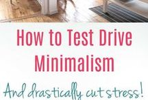 Minimalism / Living simply, decluttering your home and learning to love what really matters.