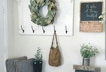 Farmhouse decor / Home decor- farmhouse signs, rustic design styles (my favorite).