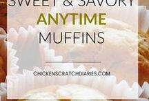 Bread Recipes / Quick breads, rolls, muffins, biscuits, yeast breads.