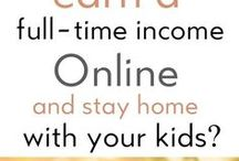 Work at Home | Make Money Online | Side Hustles / Tips and information on finding work-at-home jobs and staying sane while raising kids AND getting the job done.  Work From Home, Mompreneur, Side Hustles, Make Extra Money.