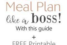Meal Planning / Meal Planning ideas, Meal Planning Printables, How to Meal Plan, Meal Planning on a Budget