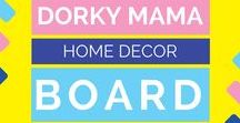 Home Decor / decorating, home design, kids rooms, DIY home decor, and more