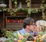 farmers market wedding inspiration || sage & thistle events / Inspiration for a farm inspired wedding in a peach orchard.