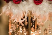 hollywood glam oscar party || sage & thistle events / Hollywood Glam Christmas party for Nature's Sunshine, December 2017