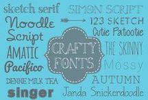 Fonts / by Rhonda Criss
