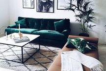 Home & Decor inspiration / Inspiring interiors; stylish nooks and crannies.