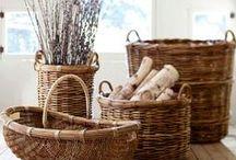 b a s k e t s / i love baskets! they are great for organizing and decor!s / by Debi Spillan