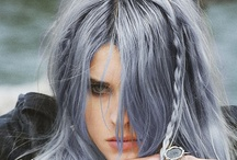 Hair-grey/white/faded / by Danial Hanson Small
