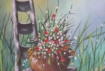 Art - Flowers / by Barbara Wastrack