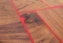 Inside: Wood + Metal + Concrete / by Michelle Johnson