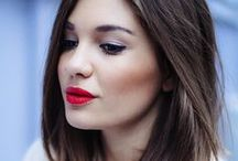 The red lip / Dedicated to the bold red lip