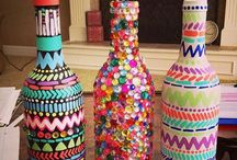bottle crafts / by Brittany Torbik