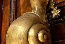 """Door handle / """"Showing personality"""""""