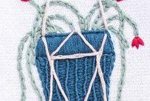 PANO DE PRATO / Aprenda a transformar panos de prato simples em peças valorizadas por meio da aplicação de técnicas de Patchwork; Bordado; Crochê e Pintura.