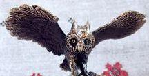Совы / Совы #совята #филин #птица #сова #крылья #для интерьера